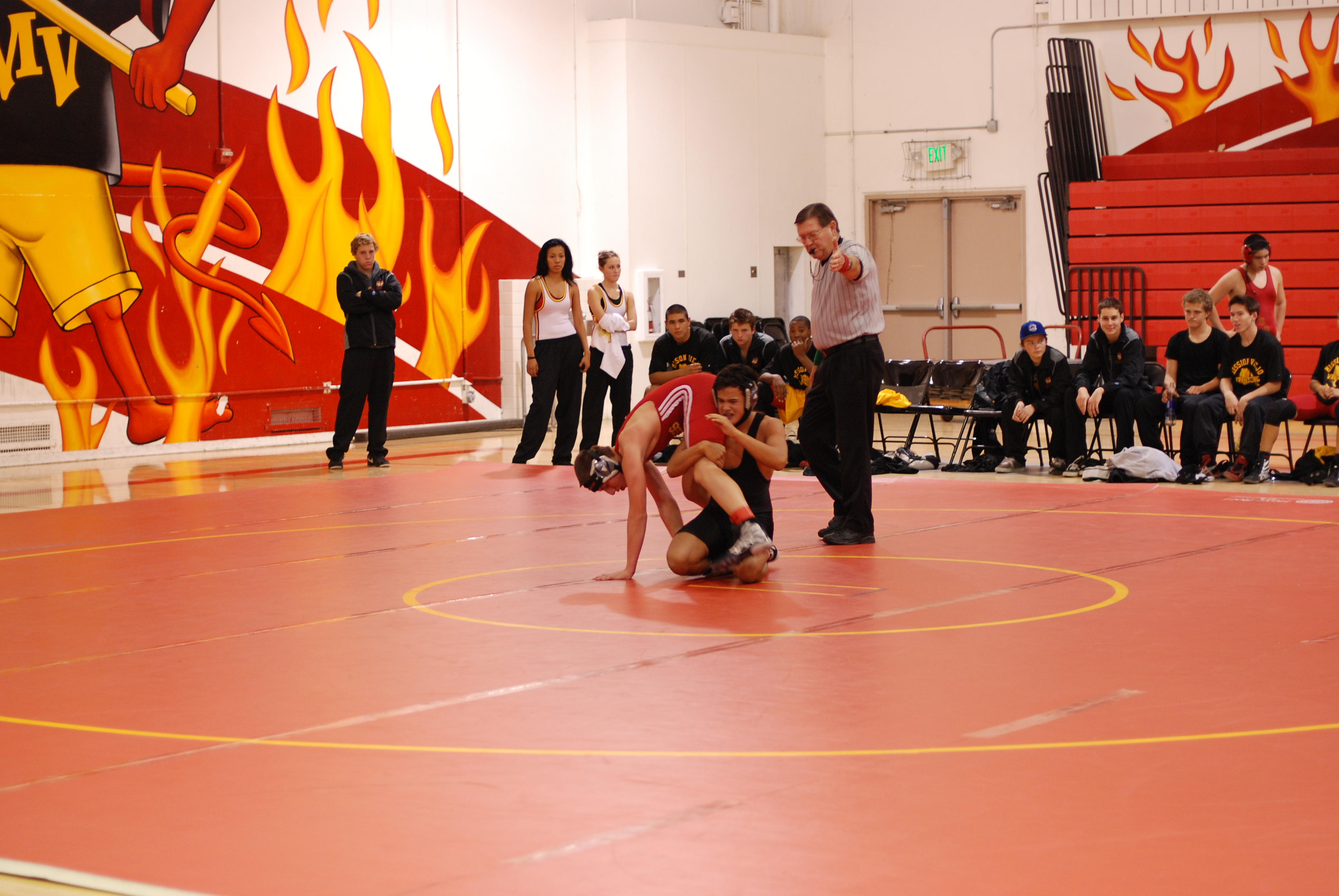 Courageous Cougar Capo Valley Wrestling