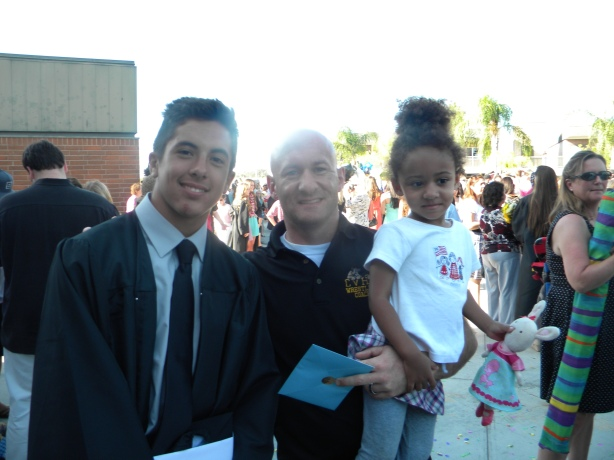 2014 graduate Mike Davis
