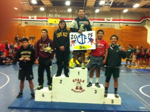 CIF runner up Gerardo Hernandez